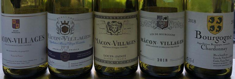 Supermarket wine review – Mâcon Villages Burgundy Chardonnay
