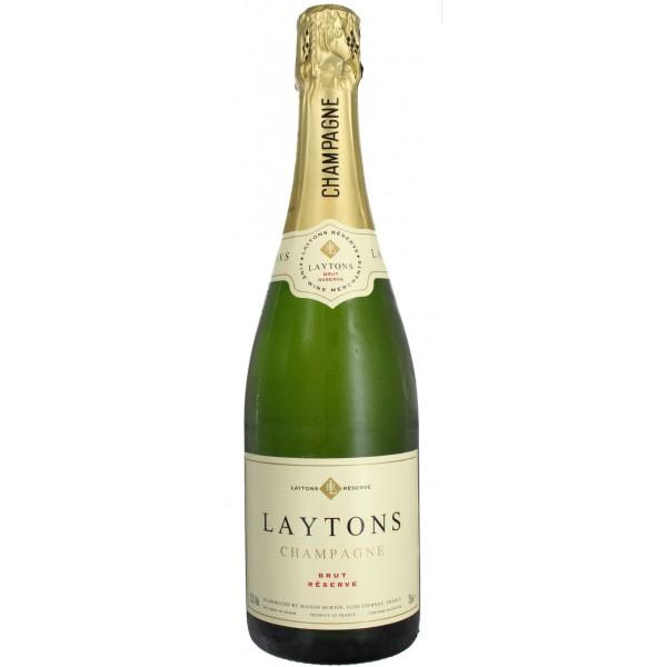 N.V. Laytons Brut Reserve, (Jeroboam) Epernay, Champagne, France