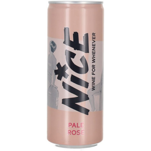 NICE, rosé, wine in a can