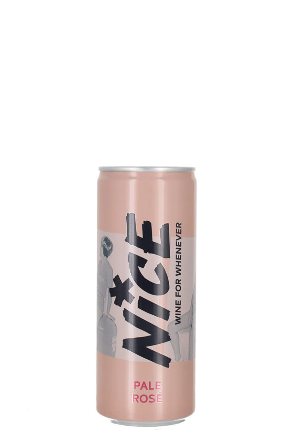 NICE, Pale Rosé, 250ml Cans, 12 pack