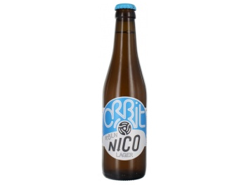 Orbit Beers Nico Cologne Lager, 4.8% ABV, 330ml bottles (24 x Bottle)