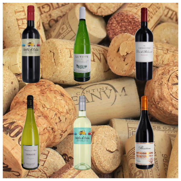 Order Mixed case of 6 wines online