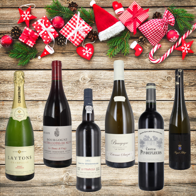ultimate christmas wine selection
