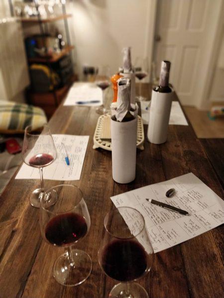 St Emilion wine tasting