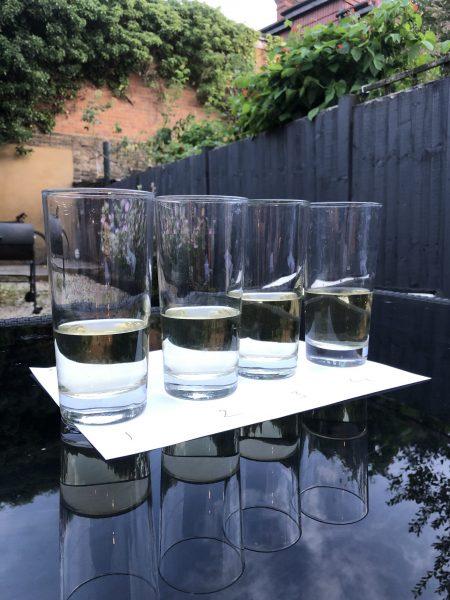 Sancerre tasting glasses