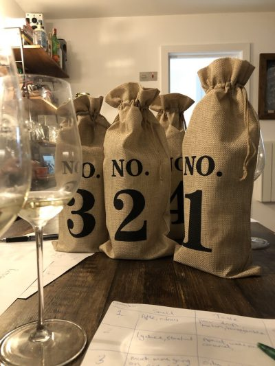 chardonnay blind wine tasting